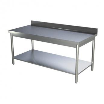 Table de travail adossée 800 x 600