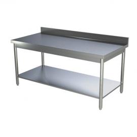 Table de travail adossée 600 x 600