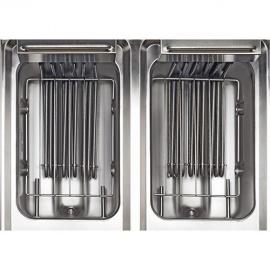 Friteuse électrique double 2x10L