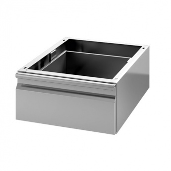 Tiroir simple inox GN 1/1 pour table prof.700