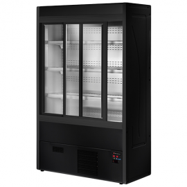 Vitrine murale RÉGINA BLACK long. 1200