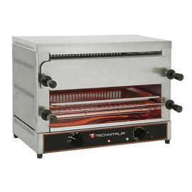 Toaster électrique 2 niveaux large GN1/1