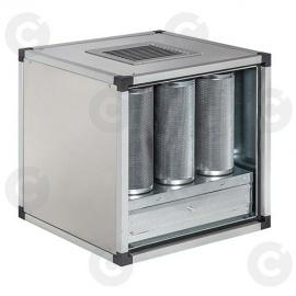 Caisson à charbons actifs statique 5 cylindres