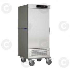 Chariot de liaison réfrigéré 1 porte 20 niveaux GN2/1