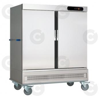 Chariot de liaison réfrigéré 2 portes 40 niveaux GN 2/1