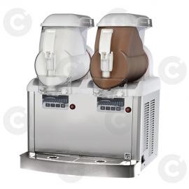 Distributeurs de glace italienne 2 cuves 12L