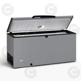 Congélateur coffre 700 L - couvercle gris