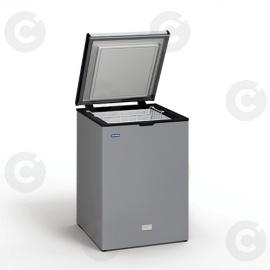 Congélateur coffre 110 L - couvercle inox