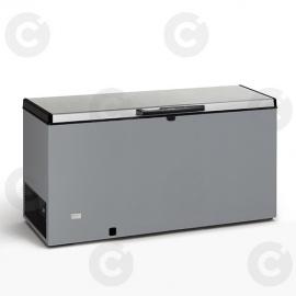 Congélateur coffre 600 L - couvercle inox