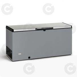 Congélateur coffre 700 L - couvercle inox