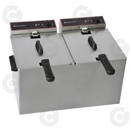 Friteuse de table élect. simple sans vidange 5 L