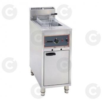 Friteuse sur coffre gaz MÉGA avec vidange 16 L