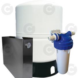 Kit osmoseur avec réservoir pour lave verre 5/100