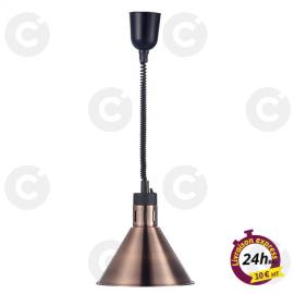 Lampe chauffante cuivre