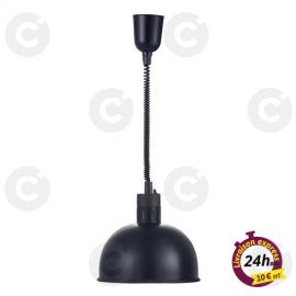 Lampe chauffante noire