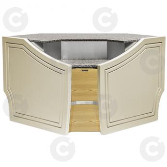 Meuble caisse d'angle interieur RIMINI