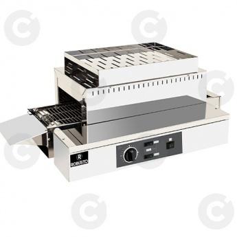 Toaster convoyeur élect. tapis 210 mm
