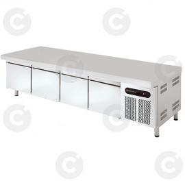 Soubassement 550 L 4 tiroirs prof. 700