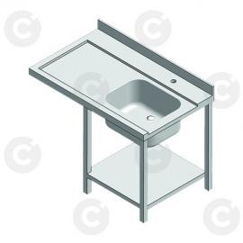 Table entrée + 1 bac