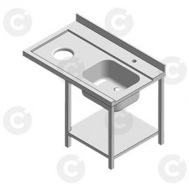 Table entrée + 1 bac à gauche